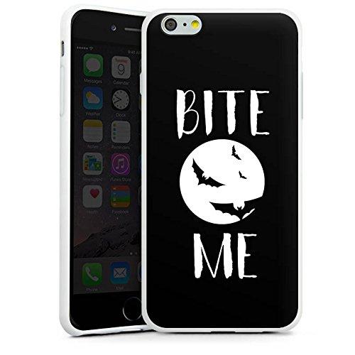 Apple iPhone SE Silikon Hülle Case Schutzhülle Halloween Fledermaus Vampire Silikon Case weiß