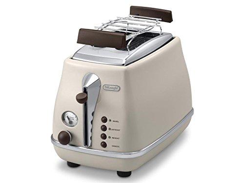 \DeLonghi Icona Vintage CTOV 2103.BG Retro Design Toaster, 900W