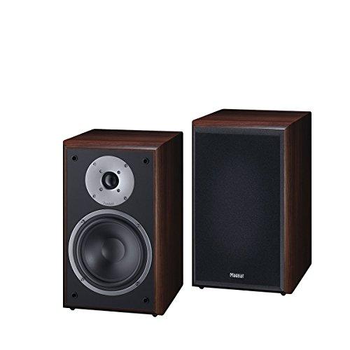 Magnat Monitor Supreme 202 I 1 Paar Regallautsprecher mit hoher Klangqualität I Passiv-Lautsprecherbox mit anspruchsvollem HiFi-Sound - Mocca
