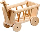 Karlie 84309 Chariots en bois pour rongeurs Wonderland 20 x 12 x 14 cm