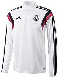 Adidas Sudadera Real Madrid Entrenamiento -Blanco- 2014-15