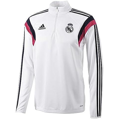 Sudadera Real Madrid Entrenamiento -Blanco- 2014-15