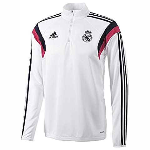adidas - Sweat-shirts - Veste d'entrainement Real Madrid - White - 2XL