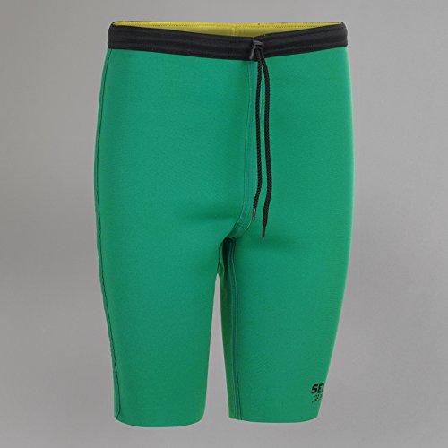 Select Sport Thermohose - grün/gelb, Größe:S
