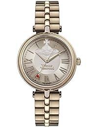 Vivienne Westwood Womens Analogue Classic Quartz Watch with Stainless Steel Strap VV168NUNU