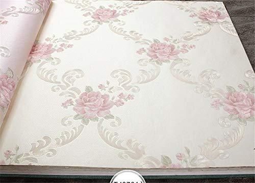 ZCHENG Garten Blumen Vlies Bodenbelag Tapete Tapete Tapete Tapete Tapete Tapete 3D Tapete Tapete 3 d Papier peint, A