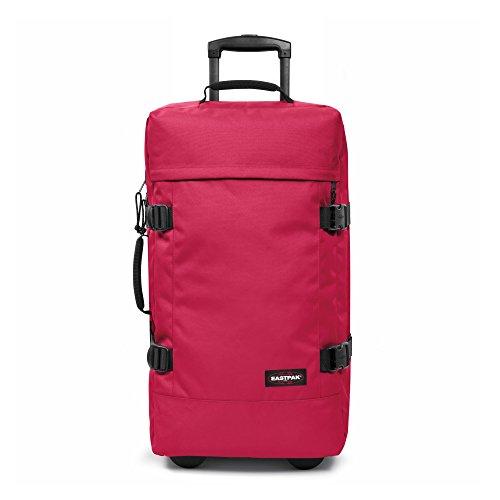 Eastpak Koffer TRANVERZ M, 78 liter, 67 x 35.5 x 30 cm, Black (Vorgängermodell) One Hint Pink