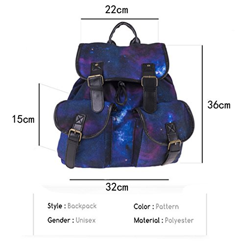 Meliya, Borsa a zainetto donna, Purple (viola) - FS-bb-01268-01YA Purple