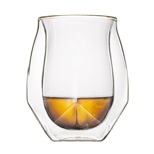 NORLAN Glas Whiskey - 2er Set (Hohe Lippe Geschmack)