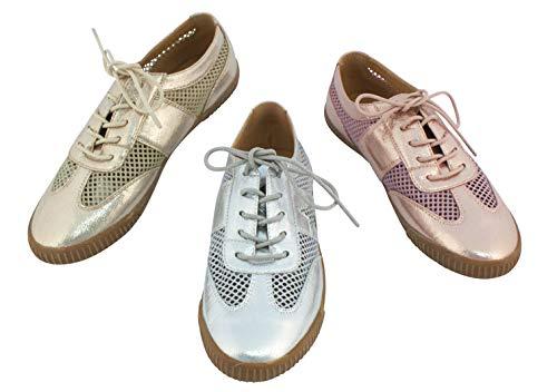 Linea Scarpa Toskana Sneaker Sommer Extra Leicht Schnürschuhe für Damen