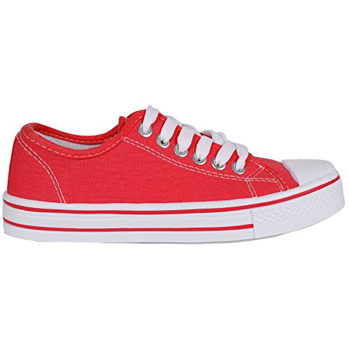 new-ladies-womens-girls-flat-lace-up-pumps-plimsolls-canvas-trainers-shoes-size