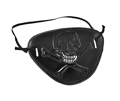 te Augenklappen - Pirat - Erwachsene - Kinder - Karneval - Halloween (Modell 2) ()