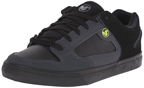 DVS (Elan Polo) Militia Ct, Herren Skateboarden Schwarz - Noir (Black/Black/Gry Nubuck)