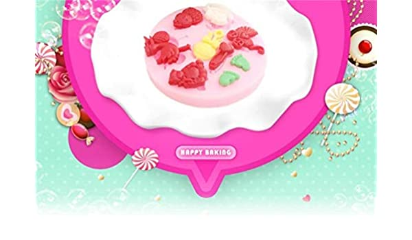 Buy World Beautys 1Pcs 3D Baby Bear Foot Birds Shape Cake Decoration Mold Silicone Fondant Soap Chocolate Babies For DIY Bakeware Online At Low Prices