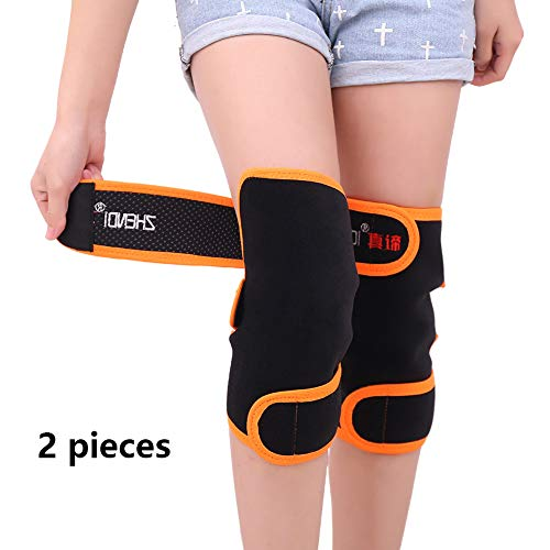 WHJJKD 1 Paar Selbsterhitzende Turmalin-knieschützer, Knieschützer Für Magnetfeldtherapie Bei Arthrose Oder Gelenkschmerzen
