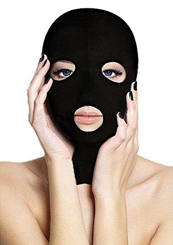 Preisvergleich Produktbild Queenshiny® Kopfmaske Zentai Maske (Schwarz-3)