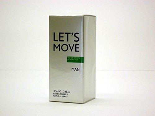 Benetton let's move edt.40ml.v 10019846
