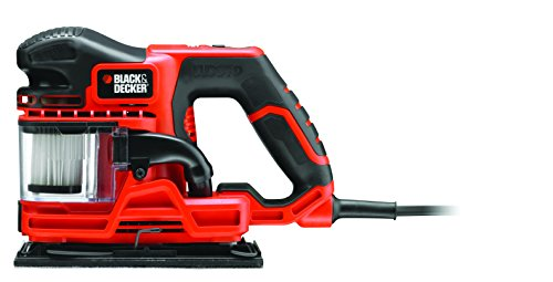 Black + Decker KA330EKA-GB 270W DUOSAND 1/3 Sheet Sander with Kit Box and Accessories by BLACK+DECKER