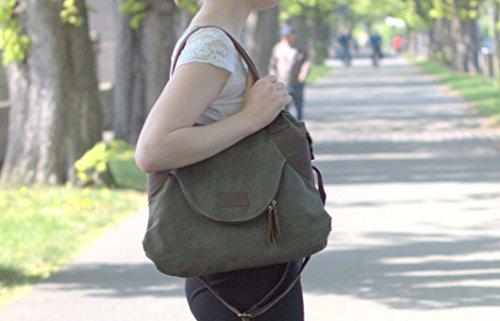 Kelly Long  BELLA M, Sac bandoulière pour femme khaki grün khaki grün - khaki grün