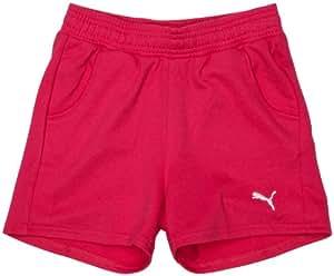 Puma Unisex Children Junior Sweat Shorts Beetroot Purple 3/4 Years