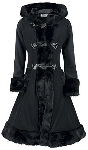 Poizen Industries Minx Coat Cappotto donna nero L