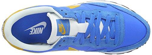 Nike Herren Air Pegasus 83 Turnschuhe, Schwarz Multicolore (Photo Blue/Gold Leaf/White)
