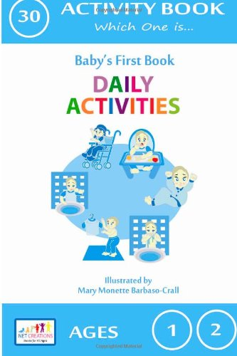 Daily Activities - Which One is: Activity Book: Volume 30 (Baby's First Activity Books)