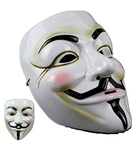 Punk Stil Halloween V Vendetta Maske Film Thema Maske Horror Baum Geek Ghost Dance Teufel Maske