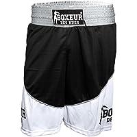 Boxeur des rues - Pantalón Corto de Boxeo Fight Activewear, Hombre, Fight Activewear, Negro, Medium