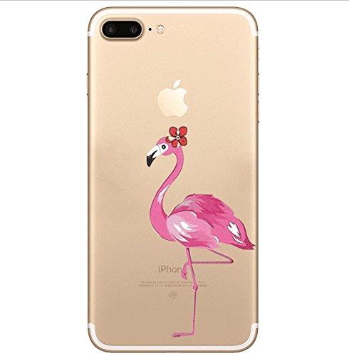 Cover iPhone 7Plus iPhone 8Plus, Sportfun morbido protettiva TPU Custodia Case in silicone per iPhone 7Plus iPhone 8Plus (07) 01