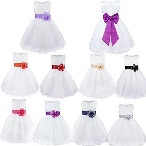 058701265e0 Freebily-Enfants-Filles-Robes-de-Princesse-Cérémonie-Mariage-