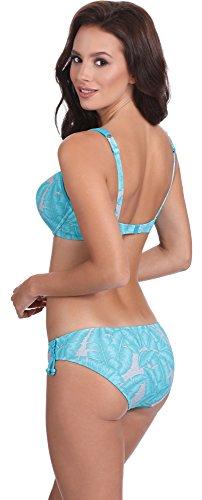 Feba Push Up Bikini per Donna DanielaVerso Modello-411