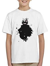Kaneki Paint Splatter Tokyo Ghoul Kid's T-Shirt