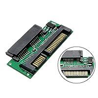ASOSMOS 1.8 Inch Micro SATA to 2.5 Inch SATA Adapter Hard Disk Converter Card