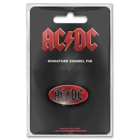 AC/DC–Rock Band Pin Pin Badge–Logo