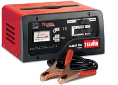 Preisvergleich Produktbild Telwin Elements ALASKA 200 START Autobatterie Ladegerät und Startgerät für 12V/24V Batterien, Ladestrom bis zu 23 A, Startstrom 100 - 150 A, Kapazität bis zu 300 Ah