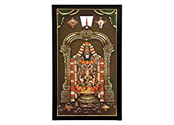 Tirupati Balaji with Lakshmi Photo Frame