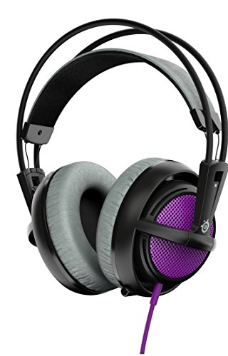 SteelSeries Siberia 200- Casque Gaming- Micro Rétractable- Logiciel de configuration- (PC / Mac / Playstation / Mobile) - Sakura Purple