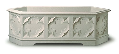 Stewart Gothic Trough, 90 cm - White Stone