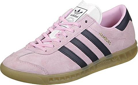 adidas Hamburg W, Chaussures de sport femme - différents coloris - Multicolore (Rosmar / Azutra / Gum4), 36 2/3 EU