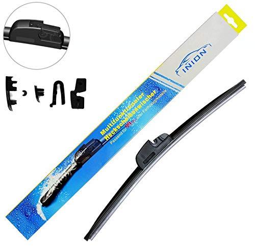 Preisvergleich Produktbild 300mm - AERO HECKWISCHER REAR Heckscheibenwischer Heckwischblatt Heck Wischblatt ohne sichtbaren Metallbügel Scheibenwischer für die Heckscheibe - INION
