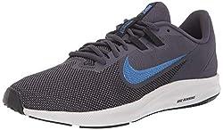 Nike Herren Downshifter 9 Leichtathletikschuhe, Mehrfarbig (Gridiron/Mountain Blue/Black 011), 41 EU