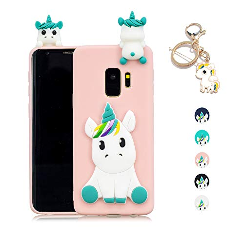 Kawaii-Shop Funda Samsung Galaxy S8 Silicona Cover, Rosa...