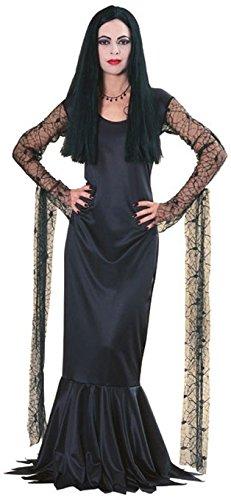 Morticia Deluxe Damenkostüm, (Morticia Kleid Addams)
