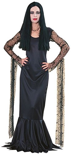 Morticia Deluxe Damenkostüm, Größe:M (Die Addams Family Morticia Kostüme)