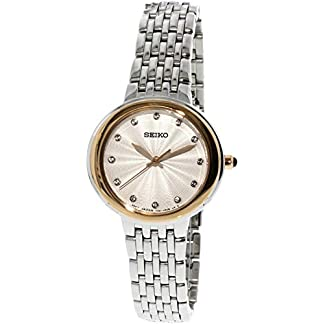 Seiko Analog White Dial Women's Watch-SRZ502P1