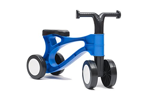 Toddlebike - Unique 'Pre Balance' bike for ages 1-3 years - indoor/outdoor use - 0.8kg! (Midnight Blue)