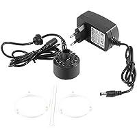 Famus Fabricante de la Niebla Colorida de 1Pc 12 LED para la charca de la Fuente de Agua con el Adaptador 110-240V(220V)