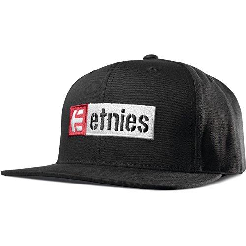 Etnies Snapback Cap ~ Corp Box Mix schwarz