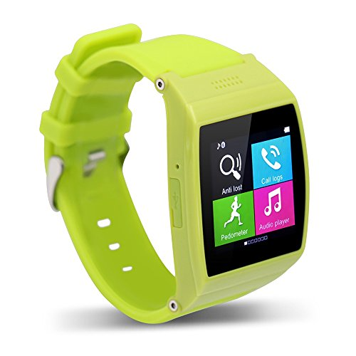 TECOMAX Fashion Aplus Smart Watch Supporto SIM/T-Flash 32GB Bluetooth sincronizzazione applicazione Smart Wearables Sensore/Remote Camera/GPRS/MP4